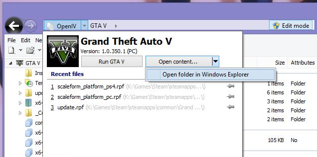 Скачать openiv это незаменимая программа для моддинга gta 5.
