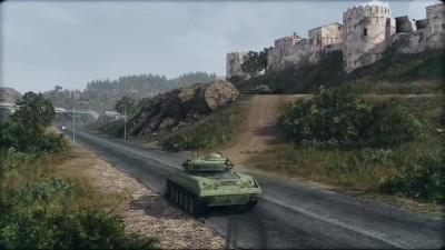 Armored Warfare Карта «Тихая река»