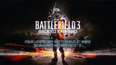 "Battlefield 3 ""Трейлер An Epic Look Back"""