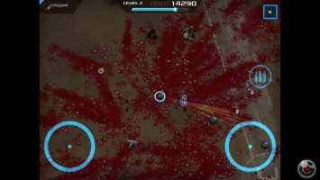 "Crimsonland HD ""iPhoneiPod TouchiPad - Геймплей"""