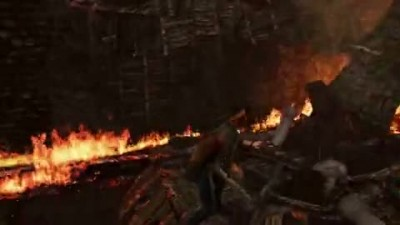 "Uncharted 3: Drake's Deception ""Destructive Fire Gameplay"""