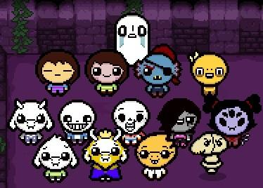 Скачать Моды На The Binding Of Isaac Afterbirth На Undertale img-1