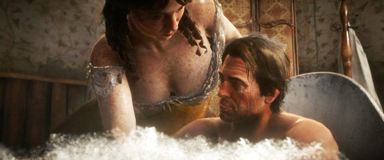 Из-за поступка Take-Two популярность мода Hot Coffee для Red Dead Redemption 2 резко возросла