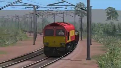 Class 66 Wcml North