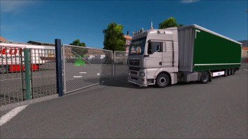 "ETS 2 ""Обзор Animated Gates in Companies v1.3"""