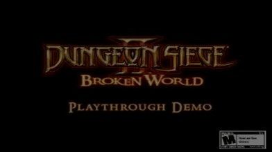 Dungeon Siege 2: Broken World E3 2006