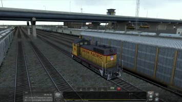 Train Simulator 2016 - EMD SW10 - Манёвры (Sherman Hill)