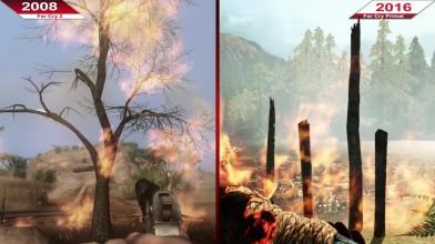 Сравнение | Far Cry 2 (2008) по сравнению с Far Cry Primal (2016) | ULTRA | GTX 970
