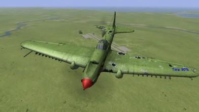 Видео из игры Ил 2 Штурмовик