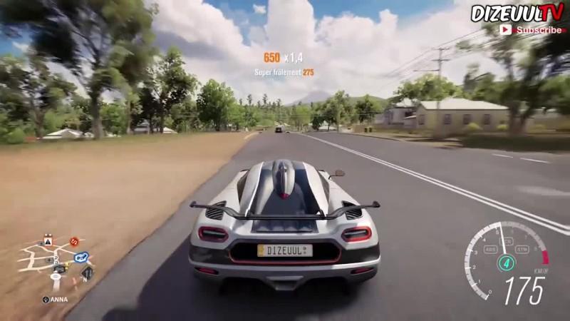 Forza Horizon 3 Koenigsegg One: / Геймплей HD