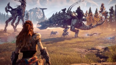 Horizon Zero Dawn - E3 2016 Step out of the Game Trailer | PS4