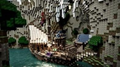 25 невообразимых построек в Minecraft