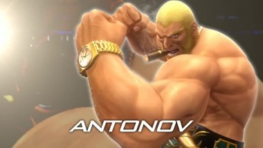 THE KING OF FIGHTERS XIV: тизер Антонова