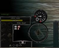Черная панель повреждений для WoT 0.9.5 Панель повреждений
