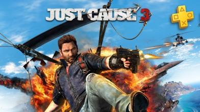 Sony раздаст Just Cause 3 подписчикам PS Plus