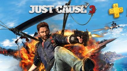 Sony раздаст Just Cause 0 подписчикам PS Plus