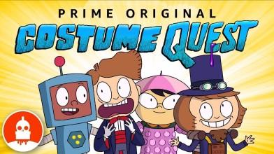 Costume Quest - Amazon представила трейлер анимационного сериала по мотивам игры
