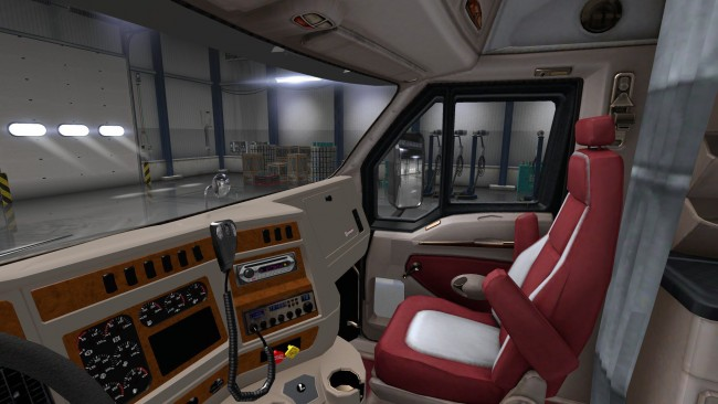 Ats kenworth t2000 for ats demo for Camion americain interieur cabine
