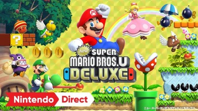New Super Mario Bros. U Deluxe выйдет на Nintendo Switch