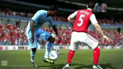 "Fifa 12 ""Man City Virtual Kit Trailer"""