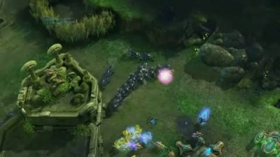 "Starcraft 2 ""BlizzCon 08: Protoss vs Terran Trailer"""