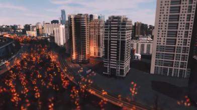 Cities: Skylines - Yoko - 25-минутный фильм-катастрофа
