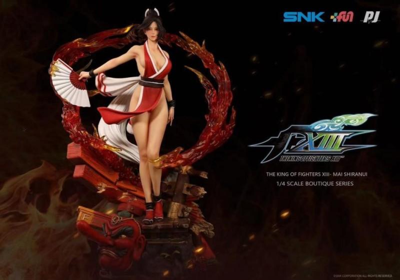 "PJ Studio представила статуэтку Мэй Ширануи из ""The King of Fighters XIII"""