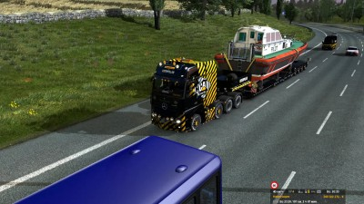 ETS 2 Mercedes 2014 8x4 CAT - Pilot Boat Fail #2