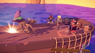 Пираты и Кракен в трейлере Into the Deep - нового дополнения For the King