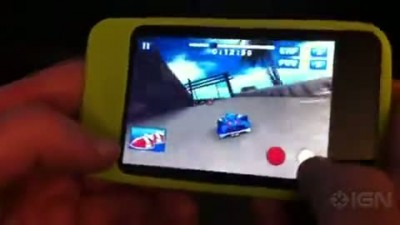 "Sonic & SEGA All-Stars Racing ""iPhone геймплей"""