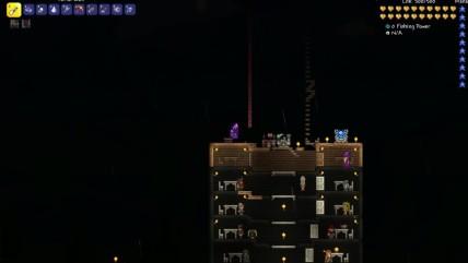 Terraria 0.3 - Быстрое перемещение.