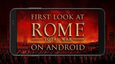 Геймплей Android-версии Rome: Total War