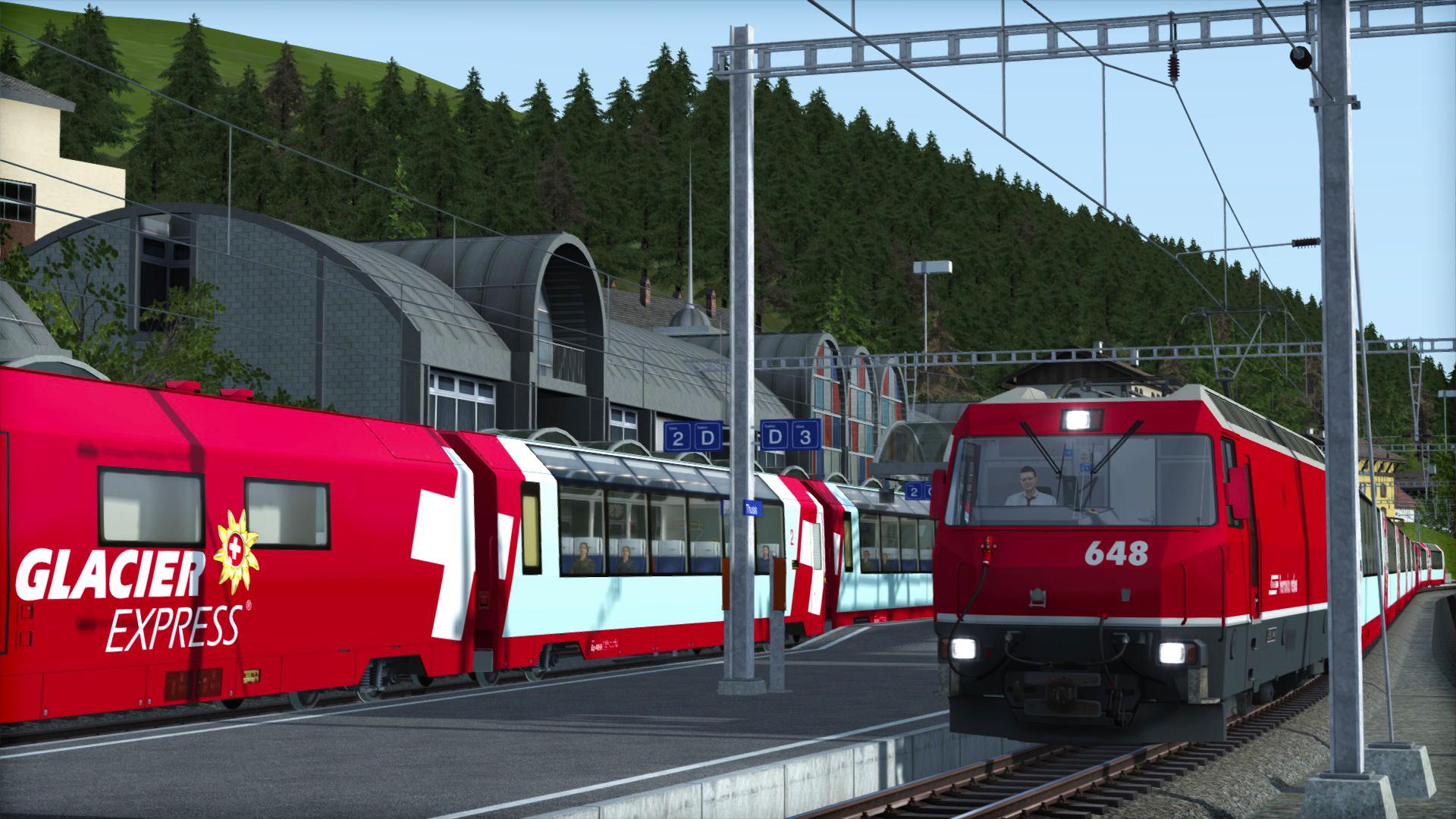 Albula Line: St Moritz - Thusis вышел в продажу
