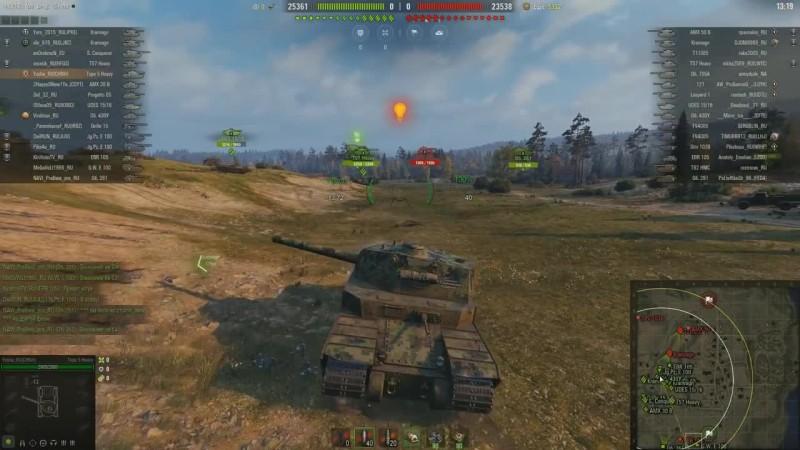 World of Tanks - Type 5 Heavy можно выкинуть