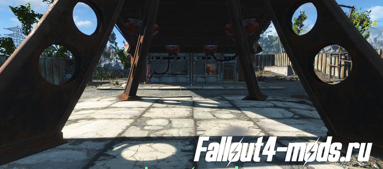 Fallout 4 мод на Разборку Мусора