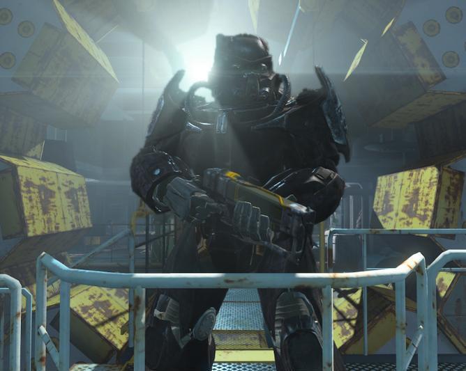 Fallout 4 Броня X 01