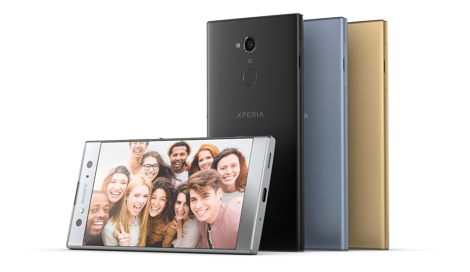 Чертежи корпуса полноэкранного Android-смартфона Сони XperiaXZ Pro сдвойной камерой