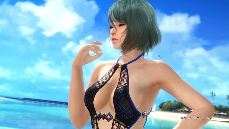 Красивые девушки разбивают арбузы в ролике Dead or Alive Xtreme: Venus  Vacation