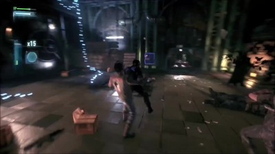 "Batman: Arkham Knight ""Геймплей Dual Play Combat с Nightwing"""