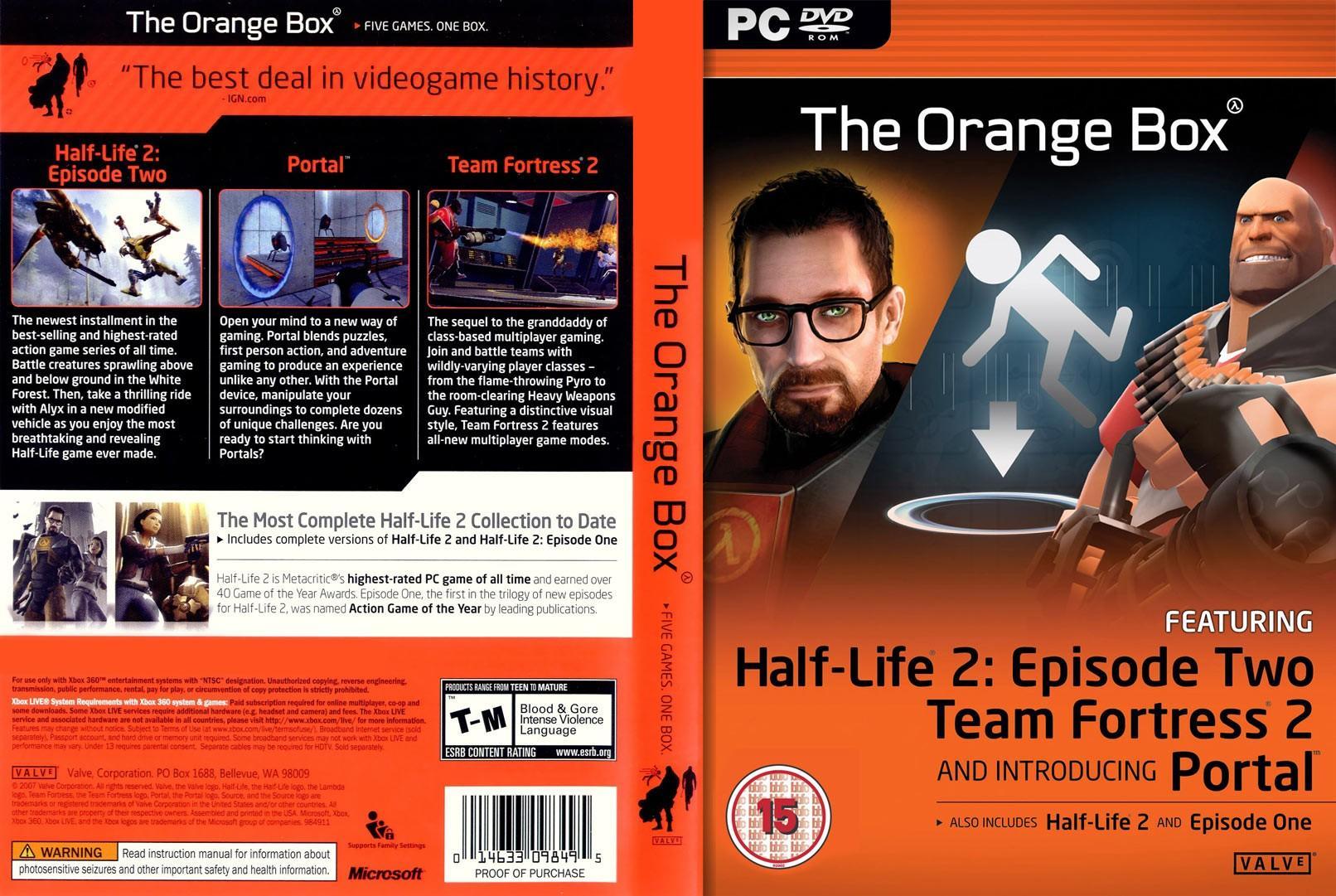 """Пора поздравлять """"тройняшек"""": сборнику The Orange Box исполнилось 14 лет"""