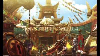 "Monster Hunter 4G ""Трейлер"""