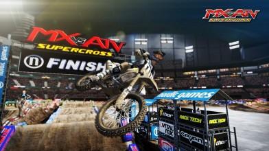 1 час геймплея игры MX vs. ATV Supercross