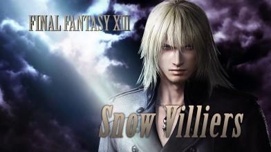 Сноу пополнит ростер персонажей Dissidia Final Fantasy