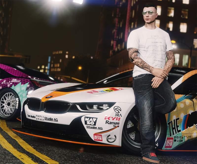 В GTA V хотят добавить возможность раскраски авто по ...