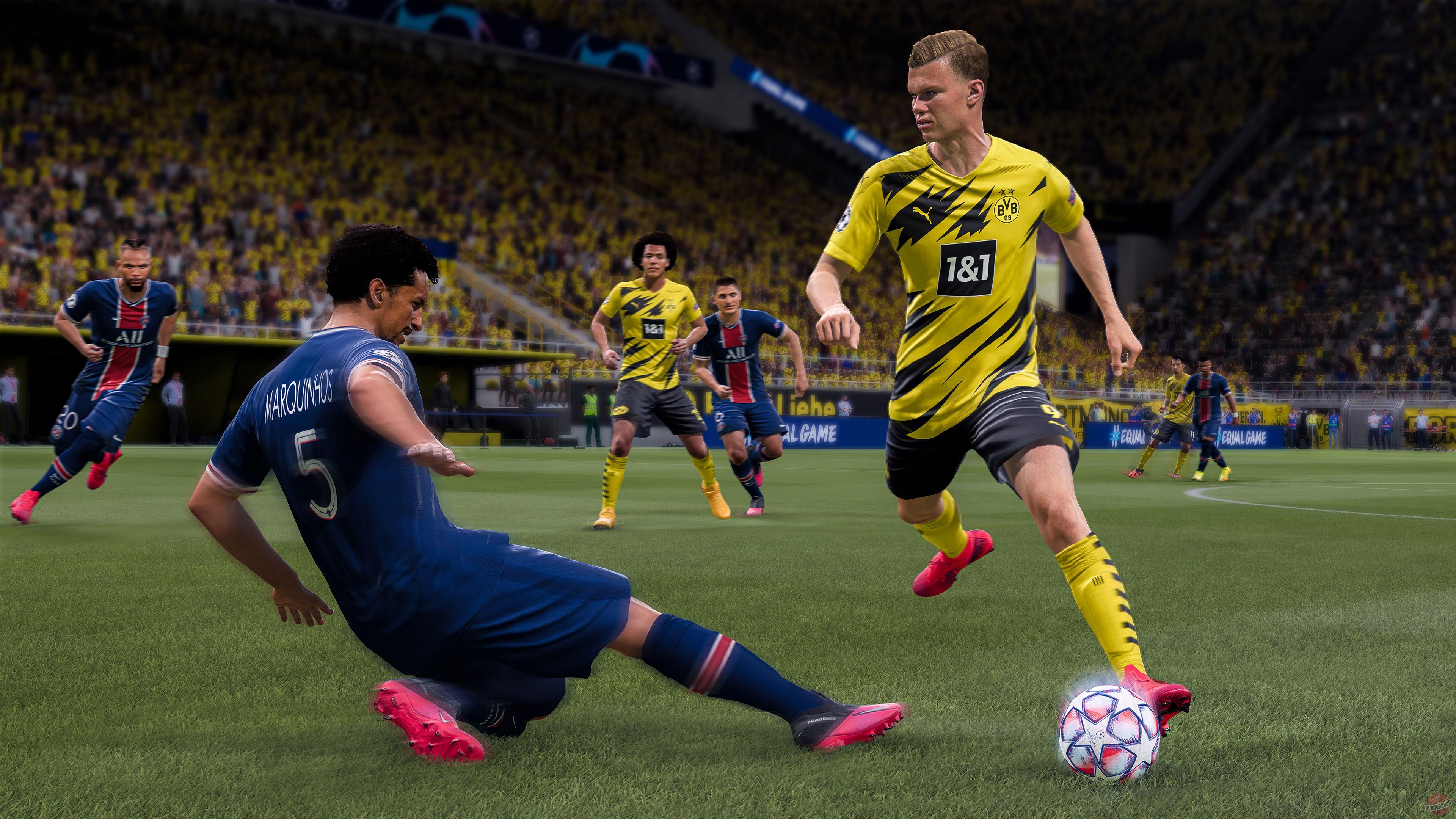 EA ответила почему FIFA 21 не является некстгеном на ПК
