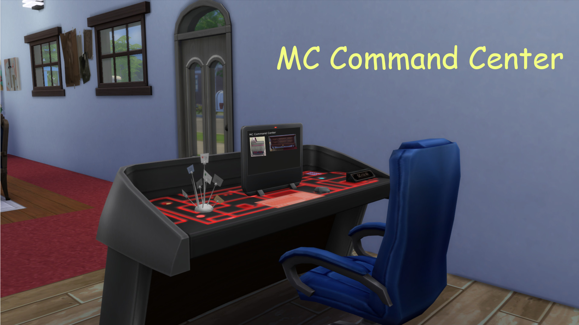 Sims  Cats And Dogs Mc Command Centre