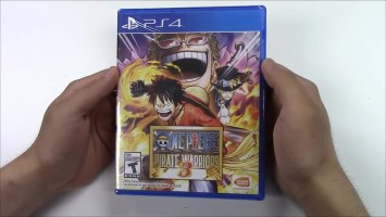 "One Piece Pirate Warriors 3 ""Анбоксинг"""