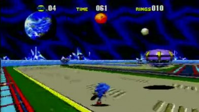 """Sonic CD (Xbox 360) """"Special Zone Gameplay"""""""