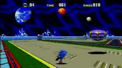 "Sonic CD (Xbox 360) ""Special Zone Gameplay"""