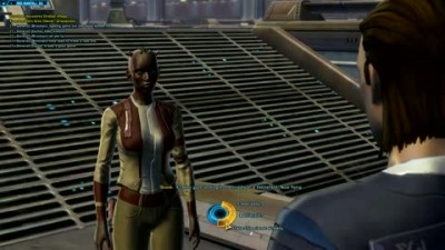 "Star Wars: The Old Republic ""Smuggler Intro Gameplay"""